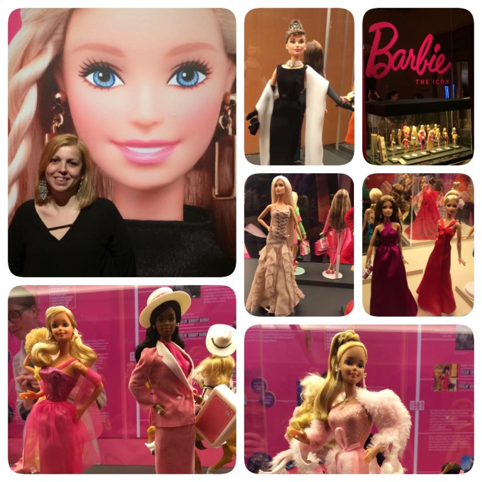 Barbie the icon Palazzo Albergati Bologna collage